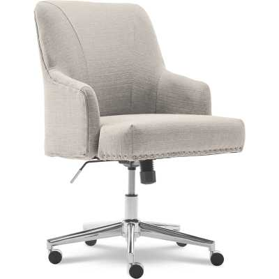 Serta Leighton Task Chair - Light Gray - Wayfair