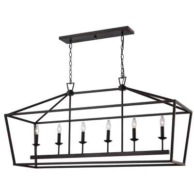 Carmen 6-Light Kitchen Island Pendant - Wayfair