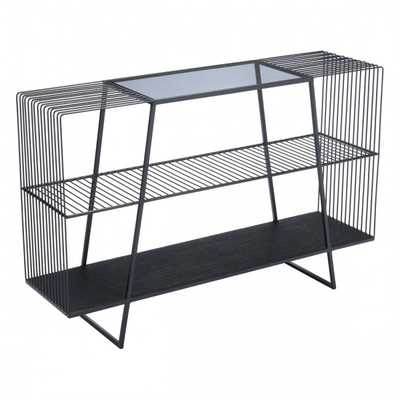 Ivor Console Table Black - Zuri Studios