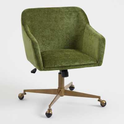 Warm Green Mid Century Zarek Office Chair by World Market - World Market/Cost Plus