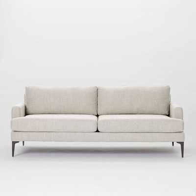 Andes Grand Sofa, Poly, Twill, Stone - West Elm
