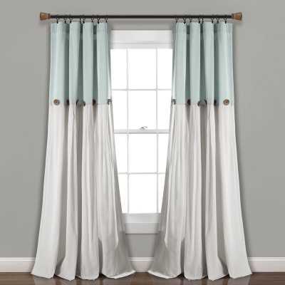 Beckham Window Solid Semi-Sheer Rod Pocket Single Curtain Panel - Wayfair