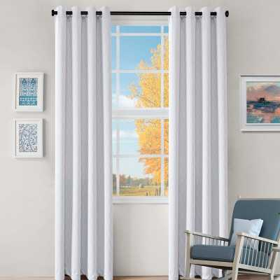 "Kinlaw Solid Blackout Thermal Grommet Curtain Panels - 108"" - Set of 2 - Wayfair"