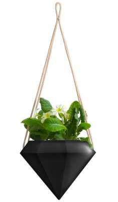 Chloris Diamond Hanging Planter - Wayfair