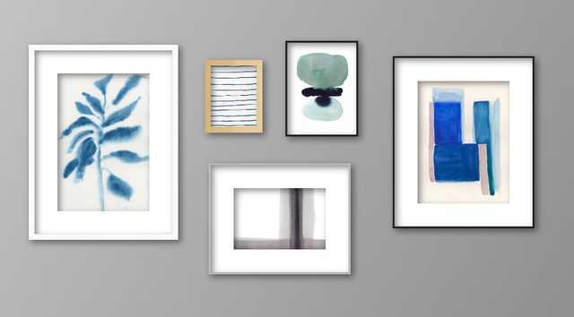 Modern Zen Gallery Wall - Artfully Walls