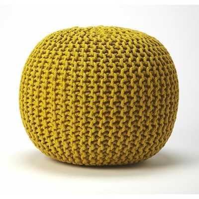 Collin Pouf - yellow - Wayfair