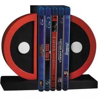Gentle Giant Studios Marvel Deadpool Logo Resin Bookends - Target