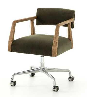 Tyler Desk Chair in Various Colors by BD Studio - Burke Decor