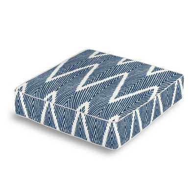 Box Floor Pillow Bali - Denim - Loom Decor