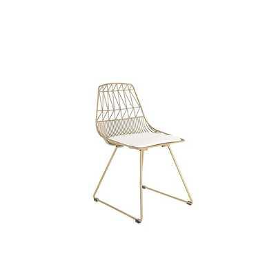Corliss Metal Dining Chair - Set of 2 - Wayfair