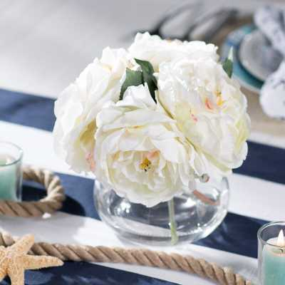 Fancy Roses Centerpiece in Vase - Wayfair