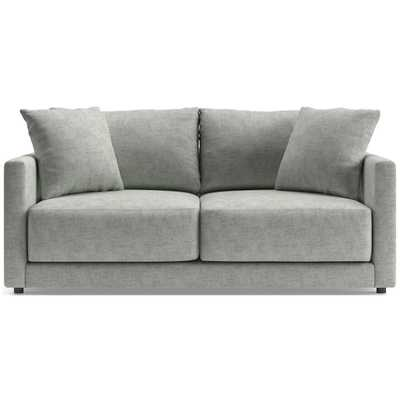 Gather Apartment Sofa in Monet Silver - Crate and Barrel