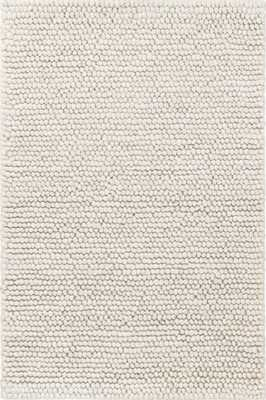 NIELS IVORY WOVEN WOOL/VISCOSE RUG 6 x 9 - Dash and Albert