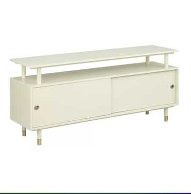 Callaham TV Stand for TVs up to 65 inches; Antique White - Wayfair