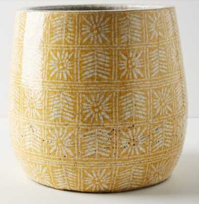 Anthropologie Marnie Pot, Size One Size - Yellow - Anthropologie