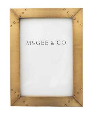 Industrial Brass Frame - McGee & Co.