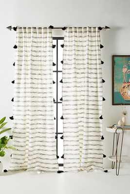 "Tasseled Rio Curtain - 96""x50"" - Anthropologie"