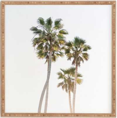 CALIFORNIA PALMS Framed Art Print - Wander Print Co.
