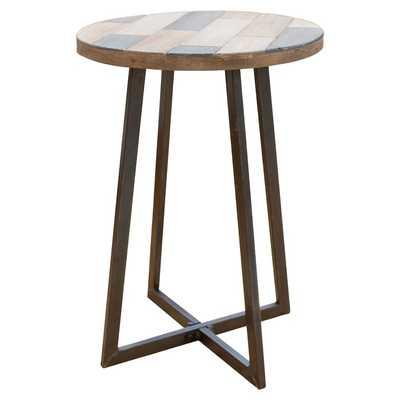 Tisbury Rustic Wood End Table - AllModern