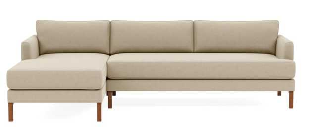 Winslow  3-Seat Left Chaise Sectional - Interior Define