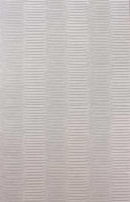 Concertina Wallpaper in Silver by Nina Campbell for Osborne & Little - Burke Decor