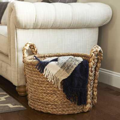 Floor Wicker Basket - Home Depot