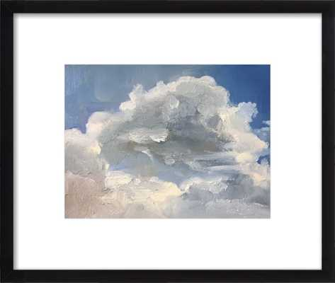 Clouds - Framed Art Print, Black Frame 14 x 11 - Artfully Walls