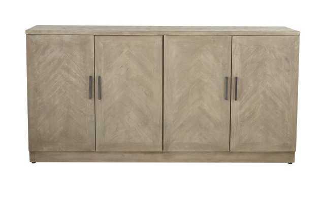 Westford Modern Wood 4-Door Sideboard - Wayfair