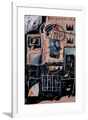 """Untitled (Loans) by Jean-Michel Basquiat 24"""" x 36"""" - art.com"""