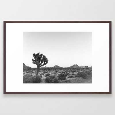 JOSHUA TREE / California Desert Framed Art Print - Society6