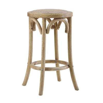 Kaci Bar & Counter Stool / Light Wood / Counter - Wayfair