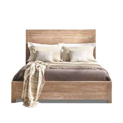 Montauk Solid Wood Bed - Driftwood - King - Wayfair