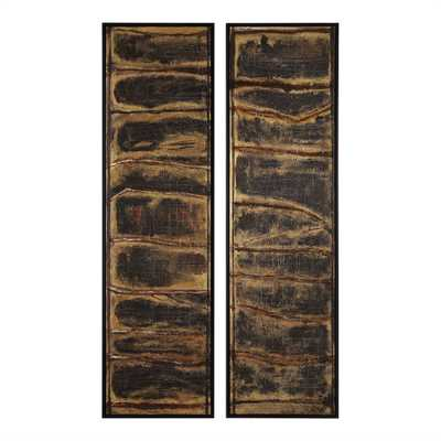 Wilderness Hand Painted Canvases, S/2 - Hudsonhill Foundry