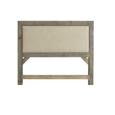 Lockridge Upholstered Panel Headboard - Queen - Birch Lane