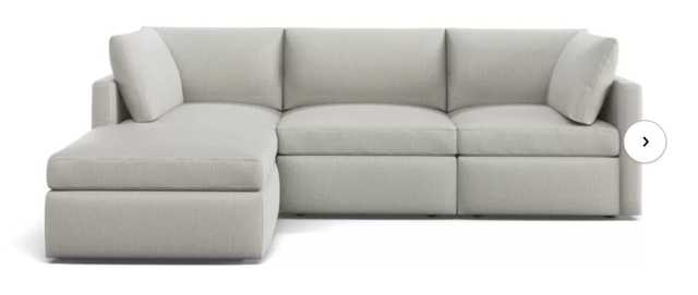 Bailee Reversible Modular Sectional with Ottoman - Birch Lane