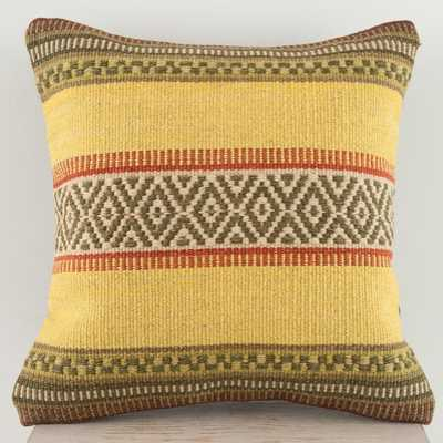 Clemente Wool Throw Pillow - Wayfair