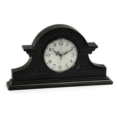Black Mantel Clock - Mercer Collection