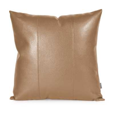Wynkoop Faux Leather Pillow - AllModern