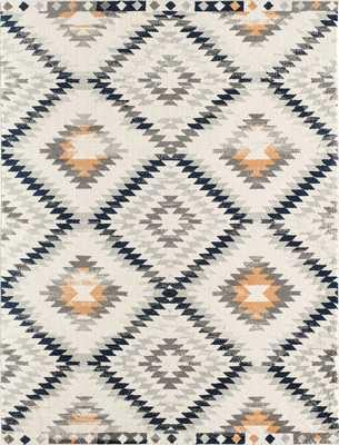 Moroccan Nadja Tribal Gold Area Rug 5'3x7 - Wayfair