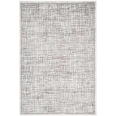 Connie Silver/Ivory Area Rug - Wayfair