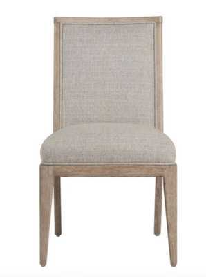 Gray Meredith Upholstered Dining Chair Set Of 2 - World Market/Cost Plus