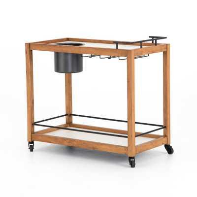 Oakley Bar Cart - Burke Decor