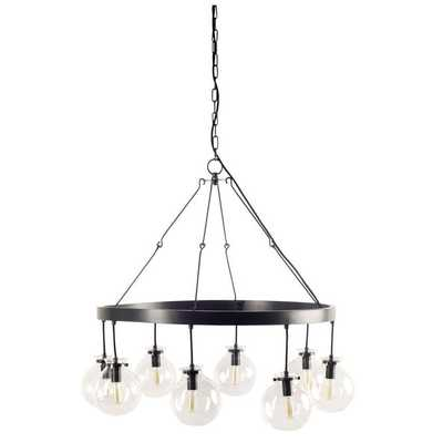 GLOBE SHADED MOBILE CHANDELIER - Shades of Light