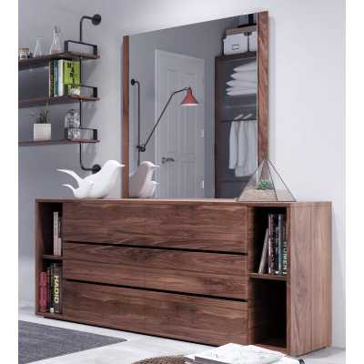 Foundry Select Defalco Rustic Dresser Mirror - Wayfair