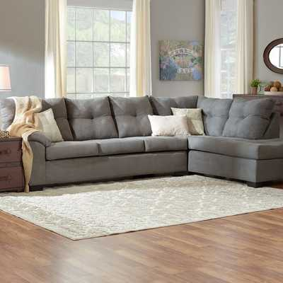 "Molinaro 122"" Right Hand Facing Sectional - Wayfair"