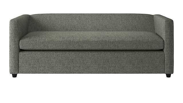 movie Lexie salt and pepper queen sleeper sofa - CB2