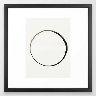 C7 Framed Art Print framed 22x22 - Society6