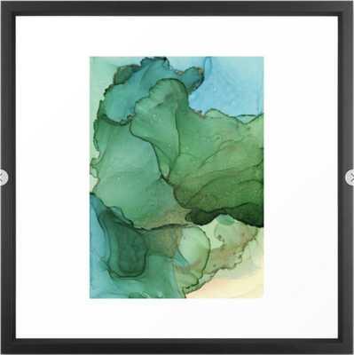 Tropical island Framed Art Print - Society6
