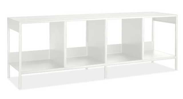 Slim Cubby Bench White - Room & Board
