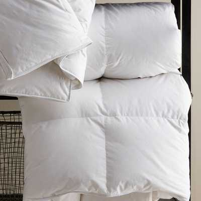 "Classic 10"" Down Alt. Duvet Insert - QN Spring - Noble Feather Co."